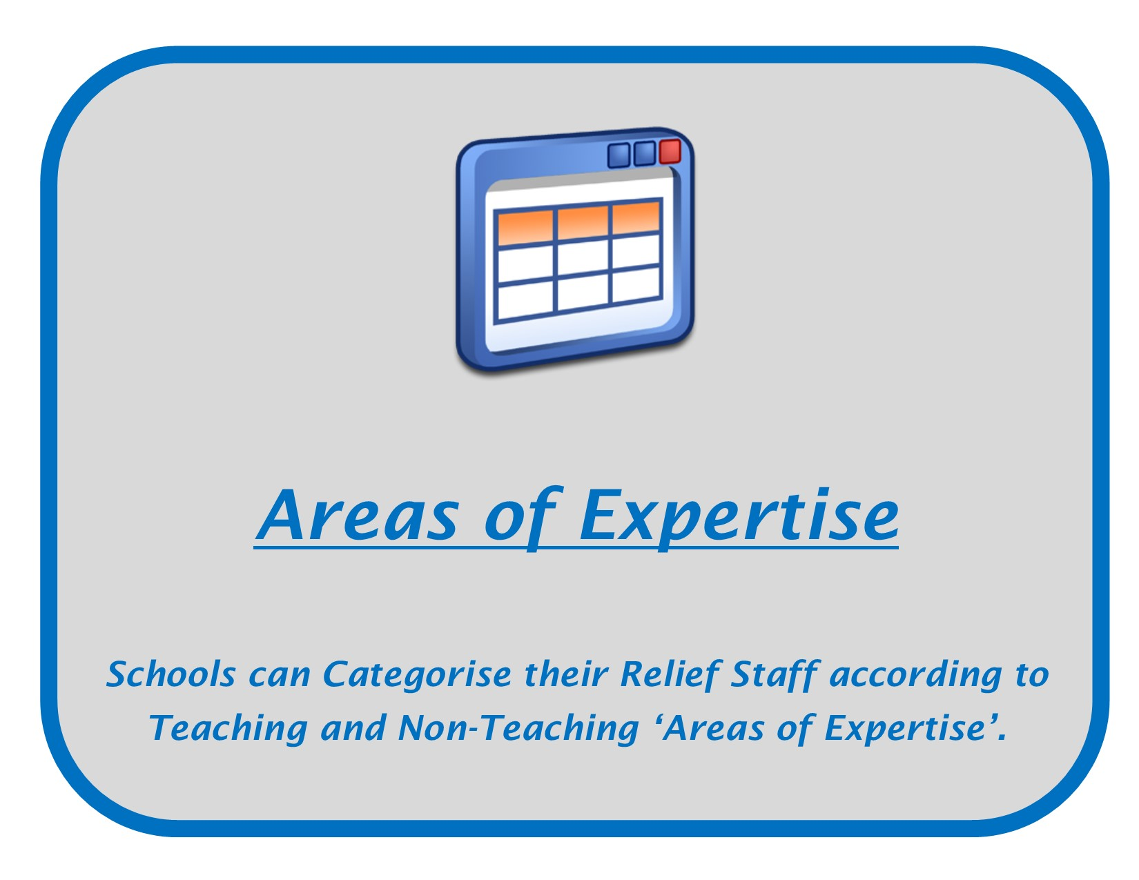 RS Areas of Expertise